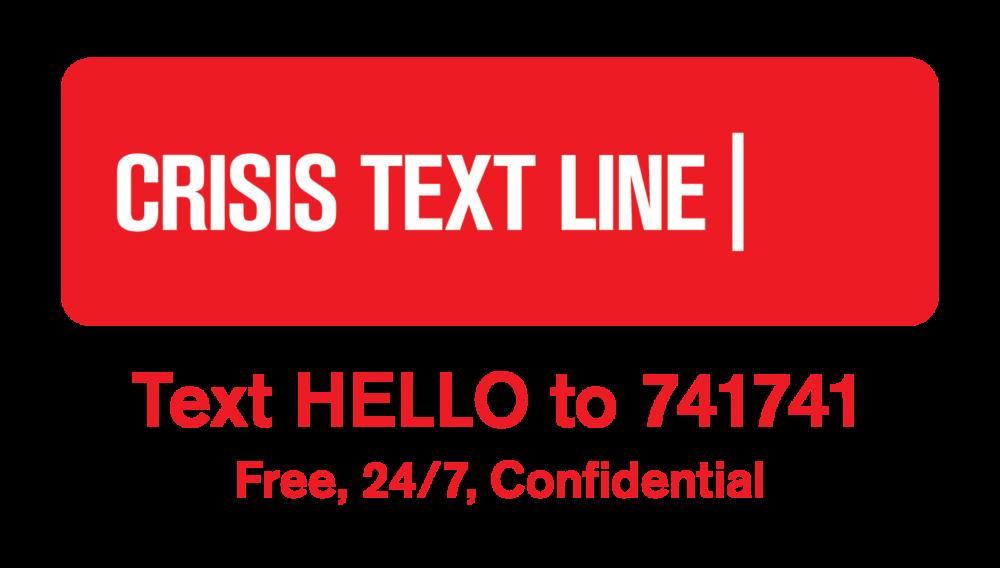 crisis text line