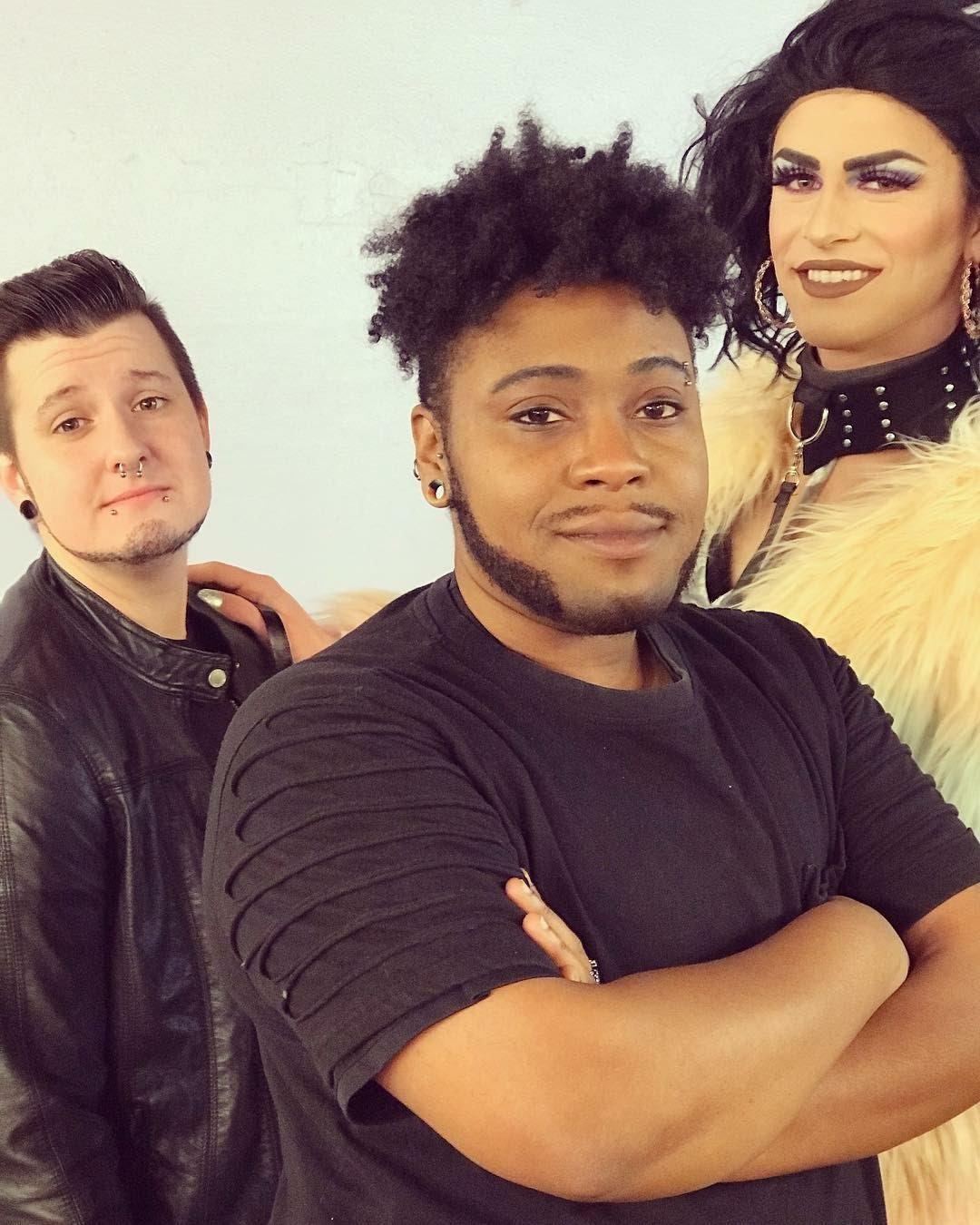 three gay people